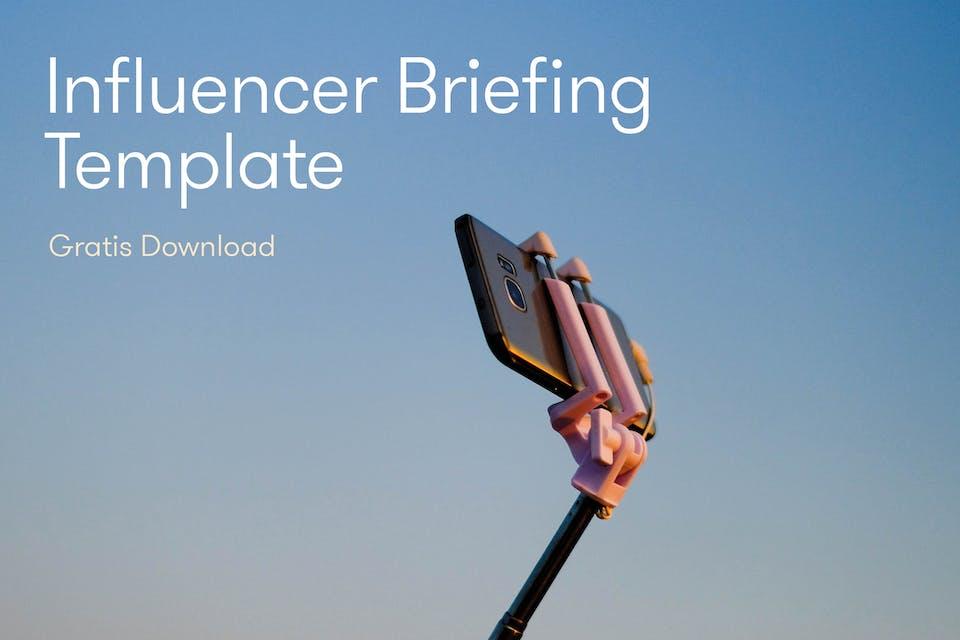 Selfiestick Influencer Briefing Template