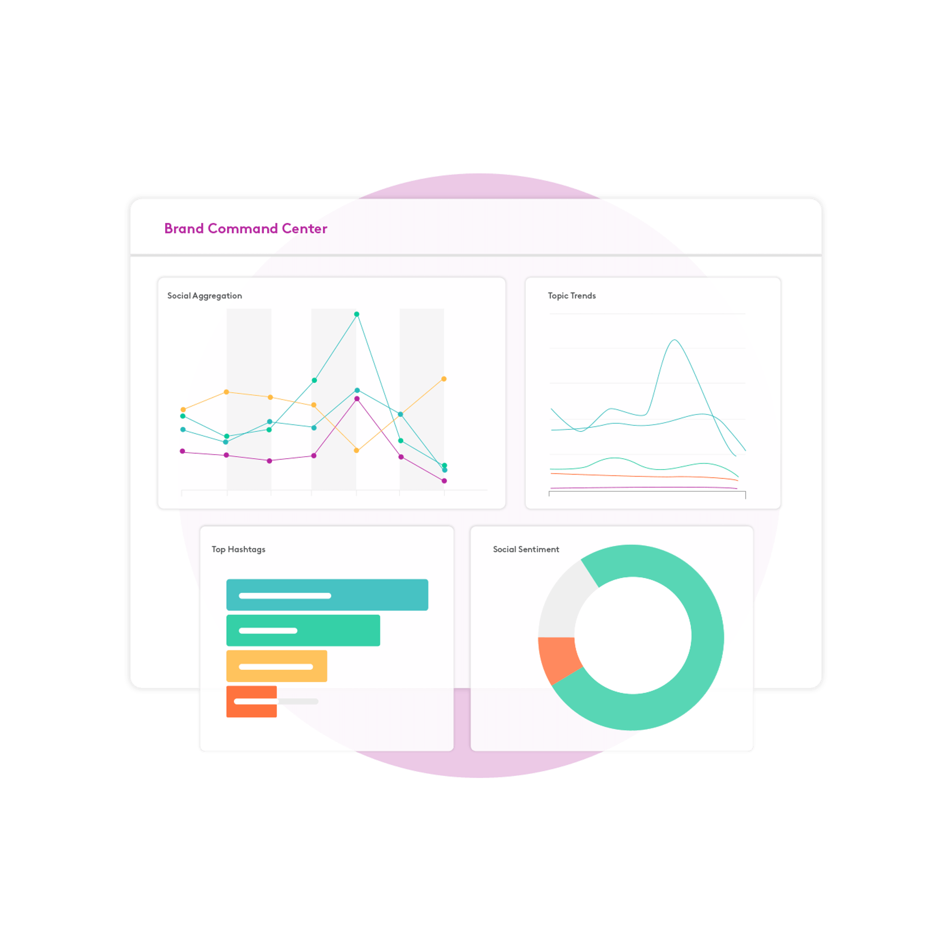 Data Visualization and Command Centers illustration