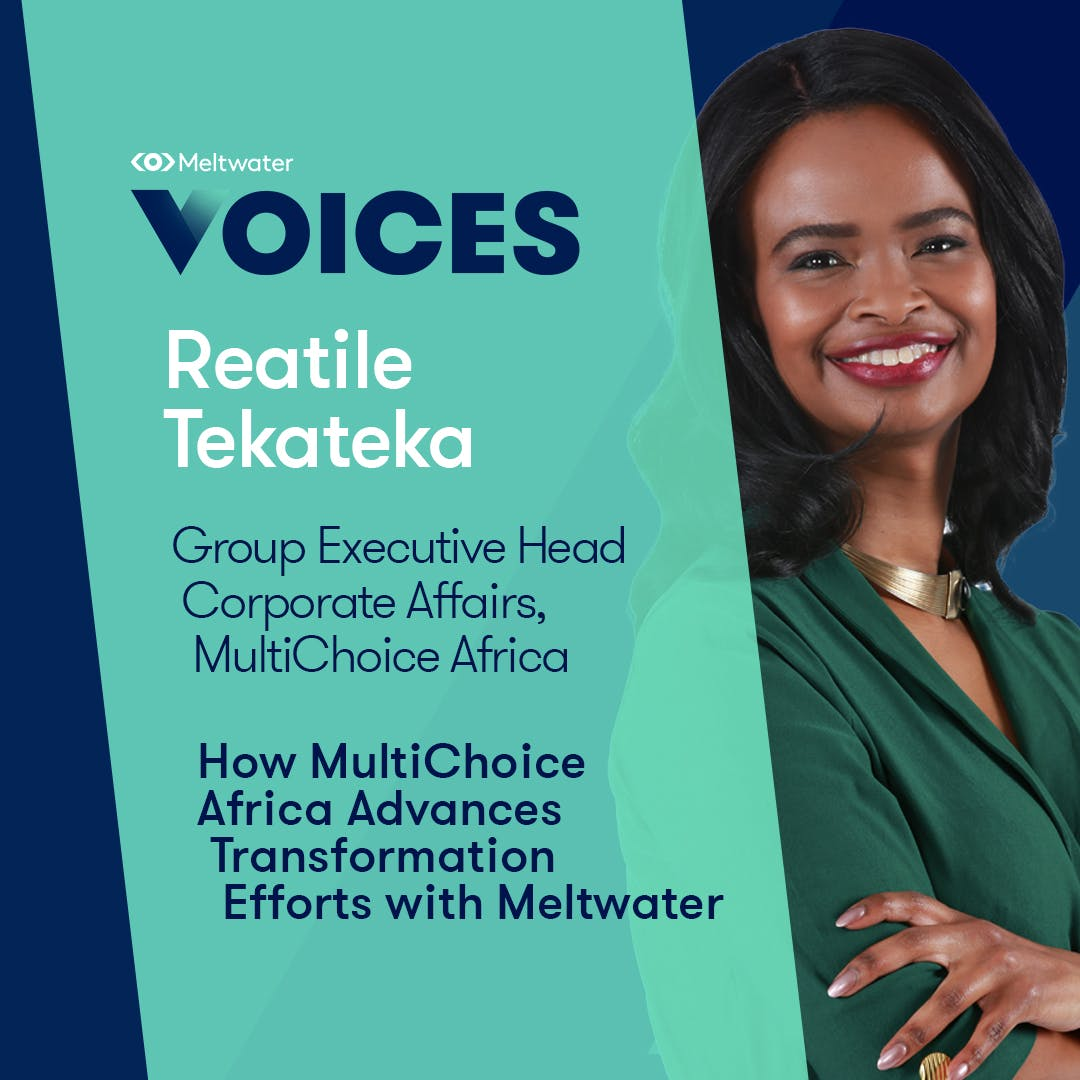 Meltwater Voices - Digital Transformation in Communications and Marketing - Reatile Tekateka
