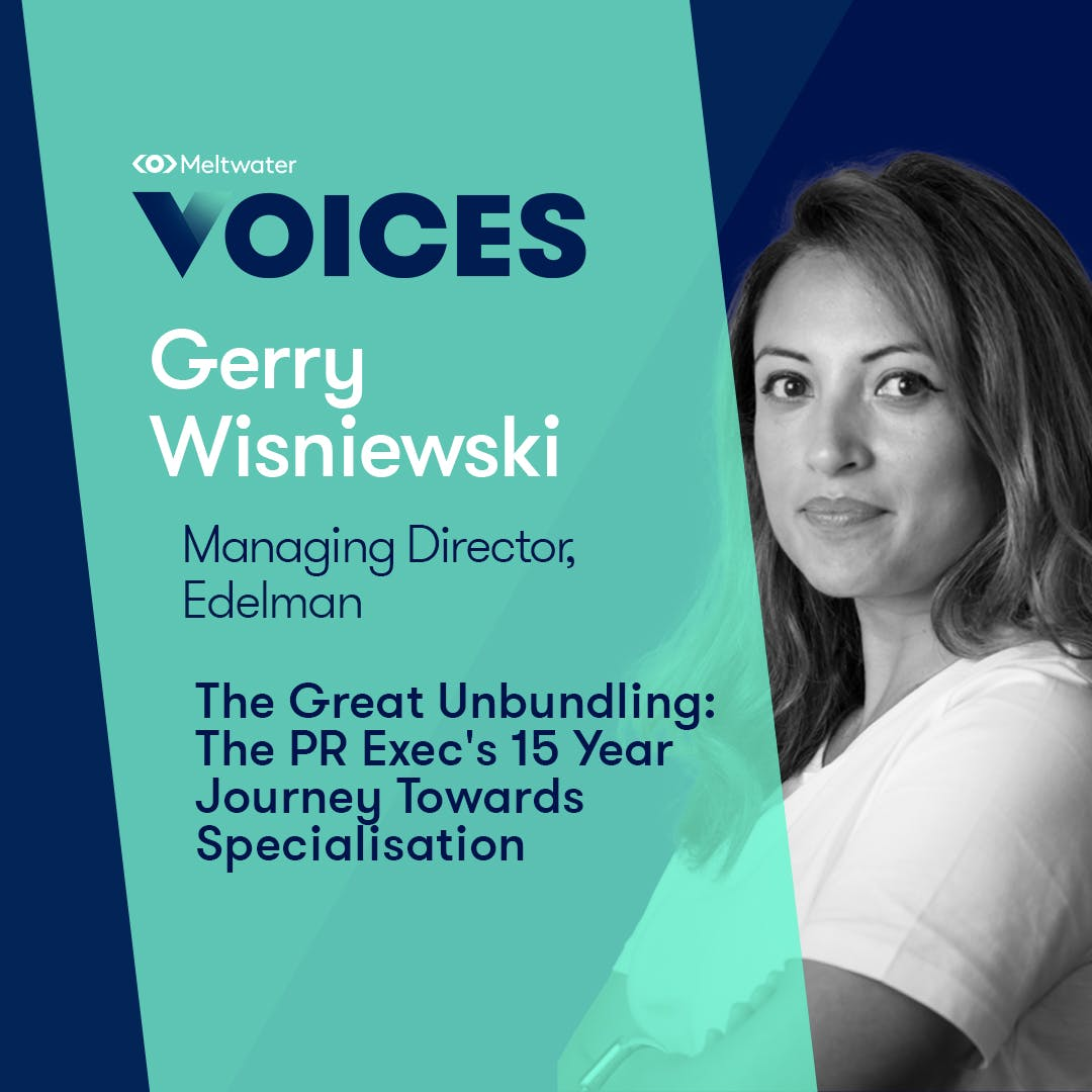 Meltwater Voices - Digital Transformation in Communications and Marketing - Gerry Wisniewski