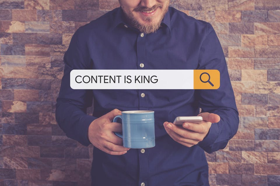 content is king suchmaschine