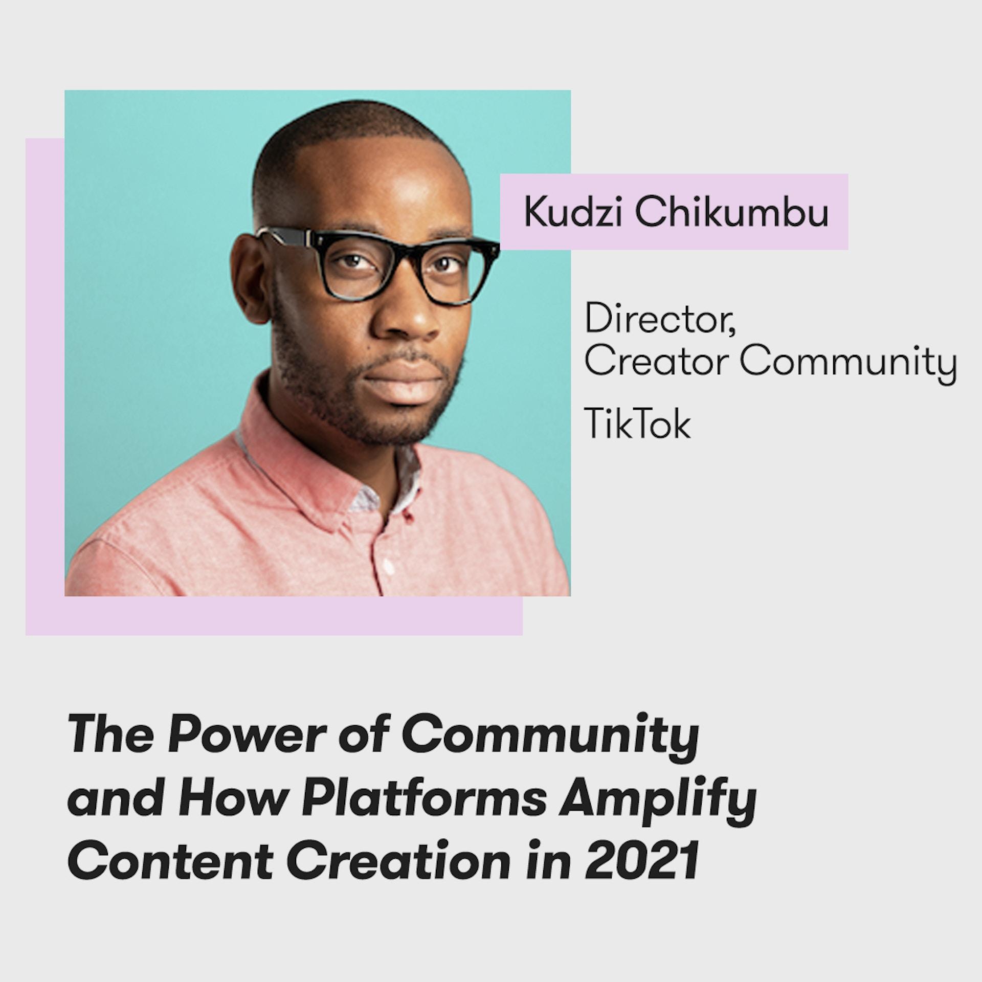 Meltwater Digital Summit - The Future of PR, Marketing and Tech - Kudzi Chikumbu, TikTok