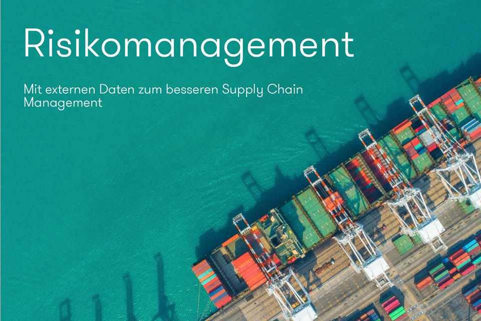 Risikomanagement Supply Chain Management Hafen Cover