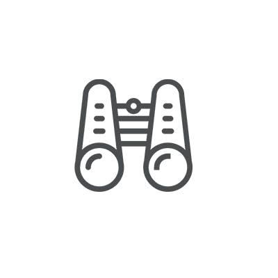 Fernglas Symbol