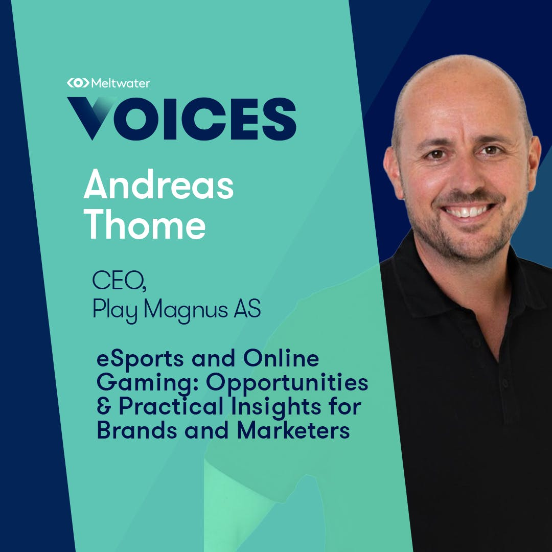 Meltwater Voices - Digital Transformation in Communications and Marketing - Andreas Thome