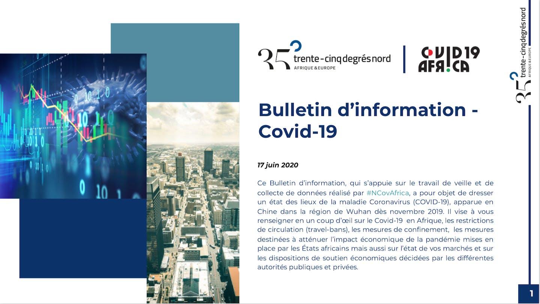 bulletin d'information COVID-19 de 35°Nord