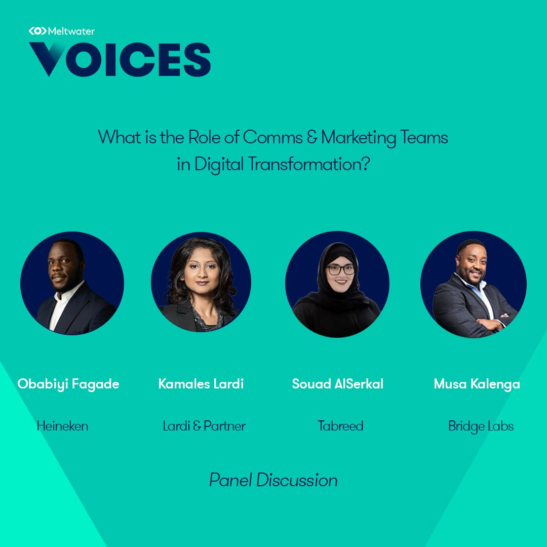 Meltwater Voices - Digital Transformation in Communications and Marketing