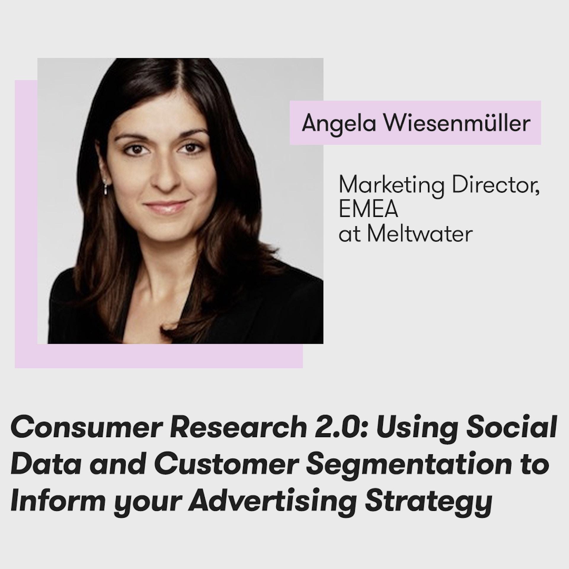 Meltwater Digital Summit - The Future of PR, Marketing and Tech - Angela Wiesenmüller
