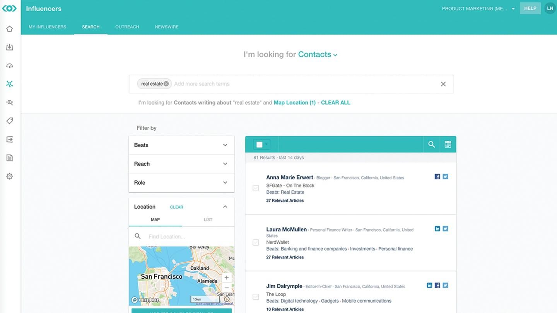 Foto Meltwater Plattform Journalistenkontakte finden Journalistendatenbank