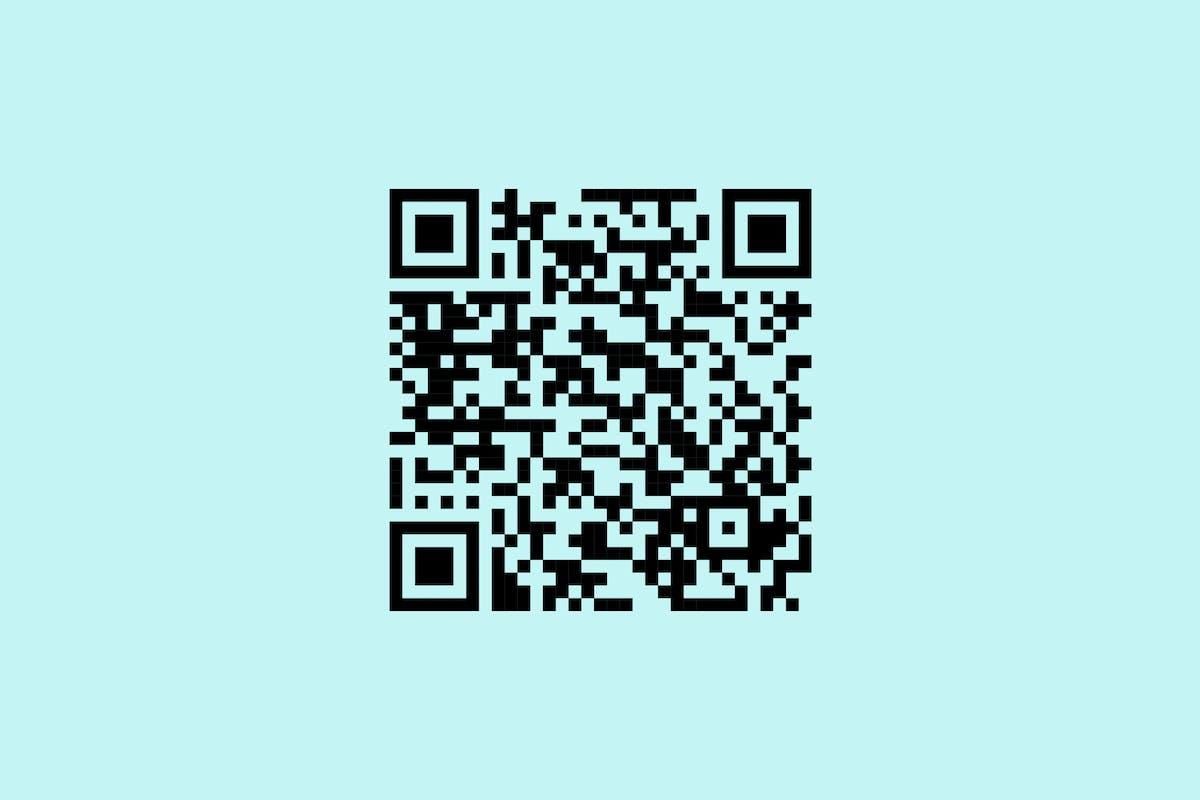QR code for iOS app