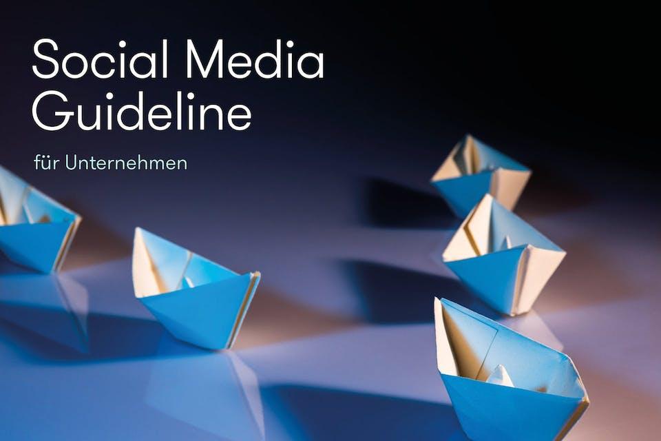 Social Media Guideline für Unternehmen