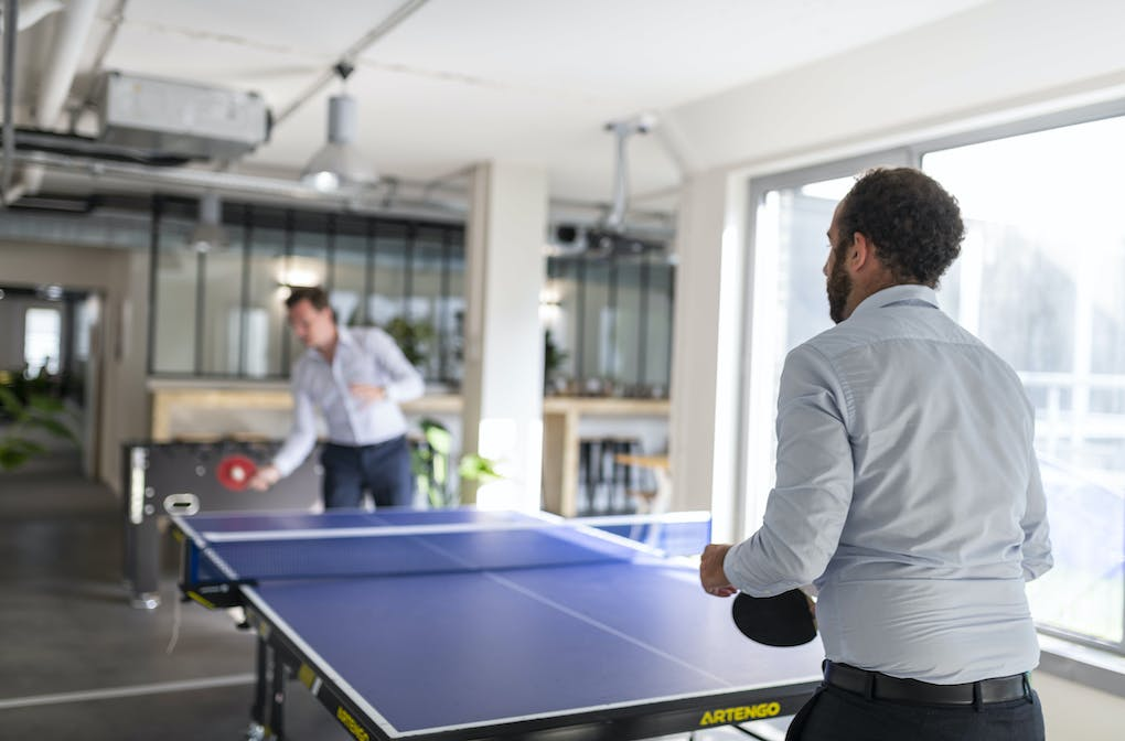 meltwater ping pong