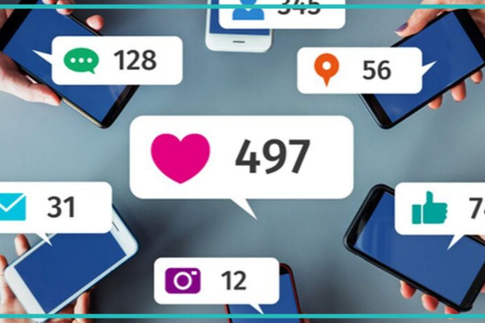 Smartphones mit Social Likes Reactions