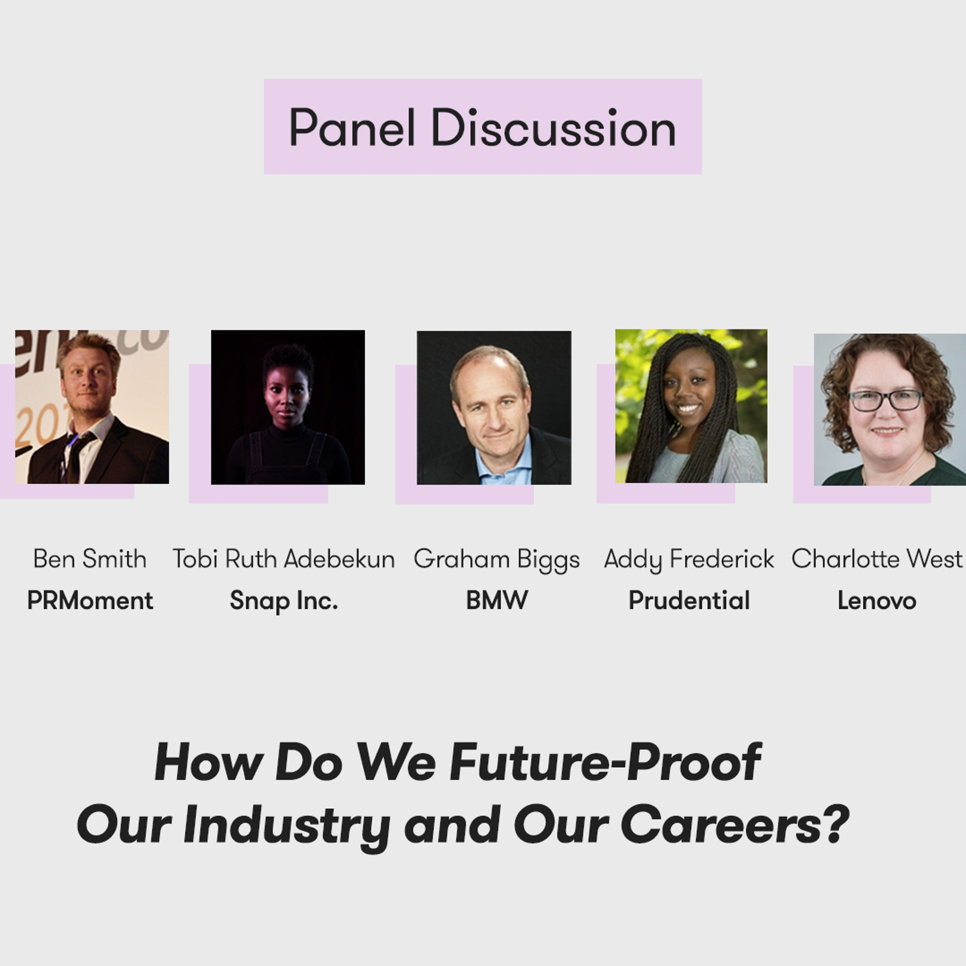 Meltwater Digital Summit - The Future of PR, Marketing and Tech - Panel Discussion