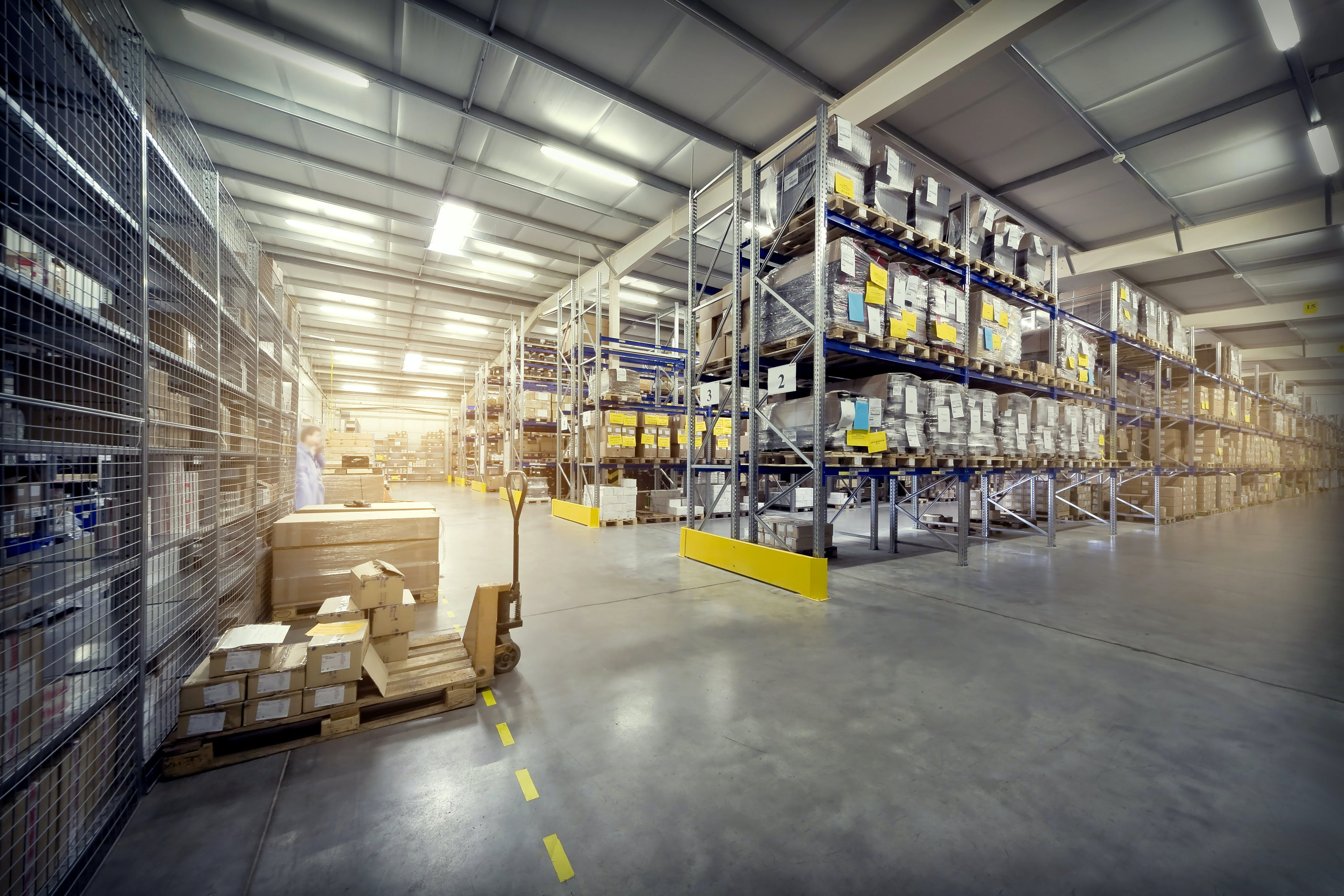 An image of a warehouse