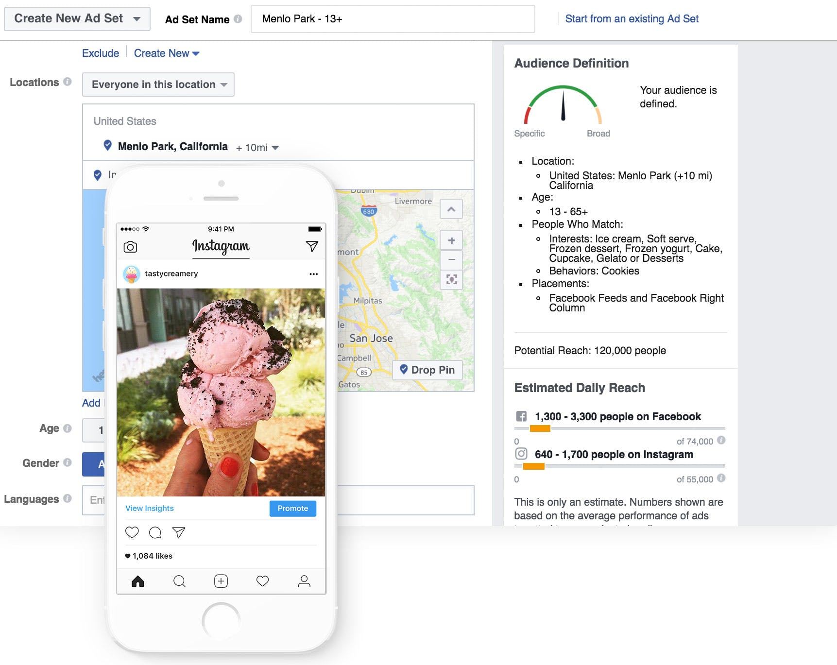 Instagram users can use Facebooks's Ads Manager to create ads