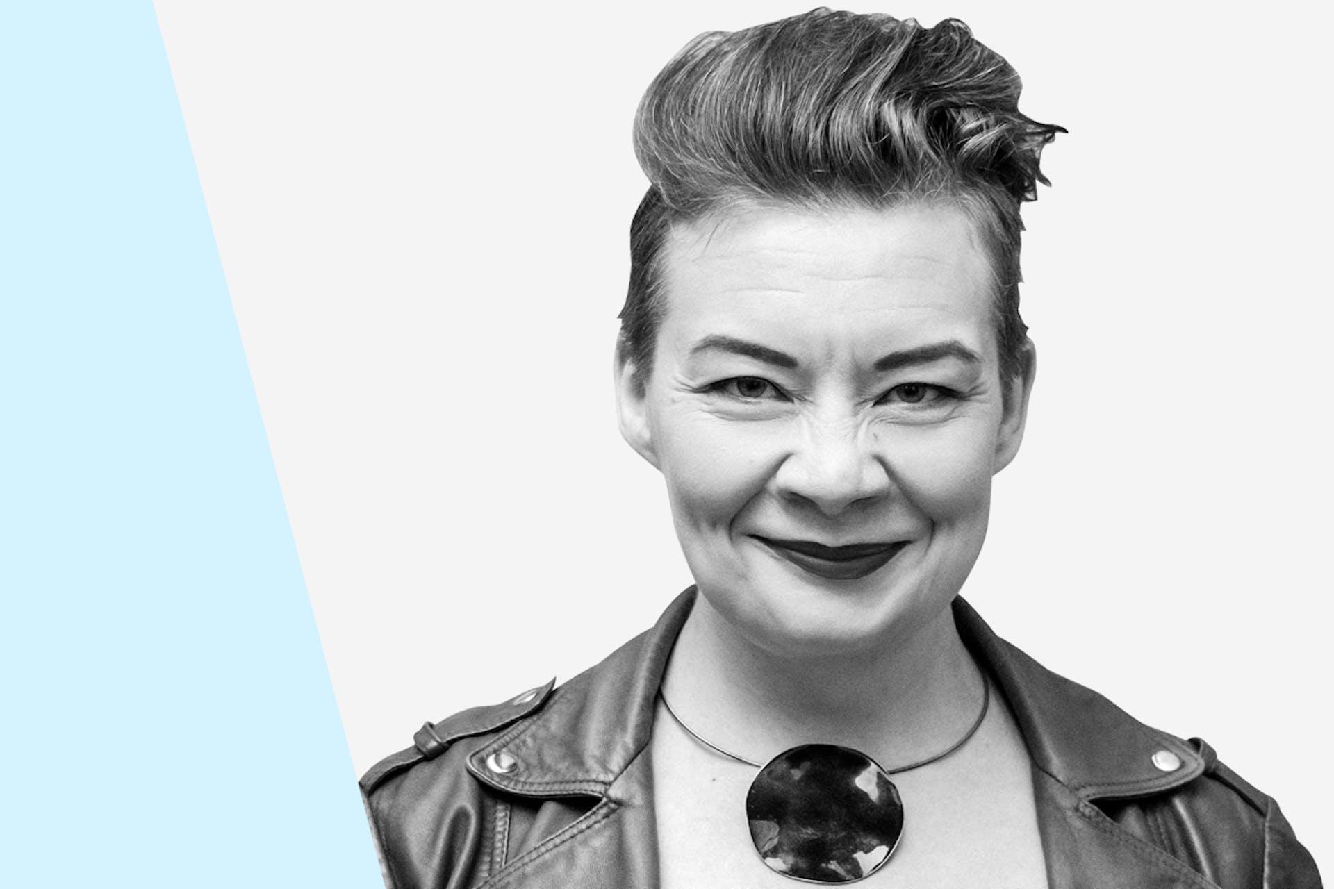 Media-, maine- ja somekohut -webinaarin puhuja Katleena Kortesuo