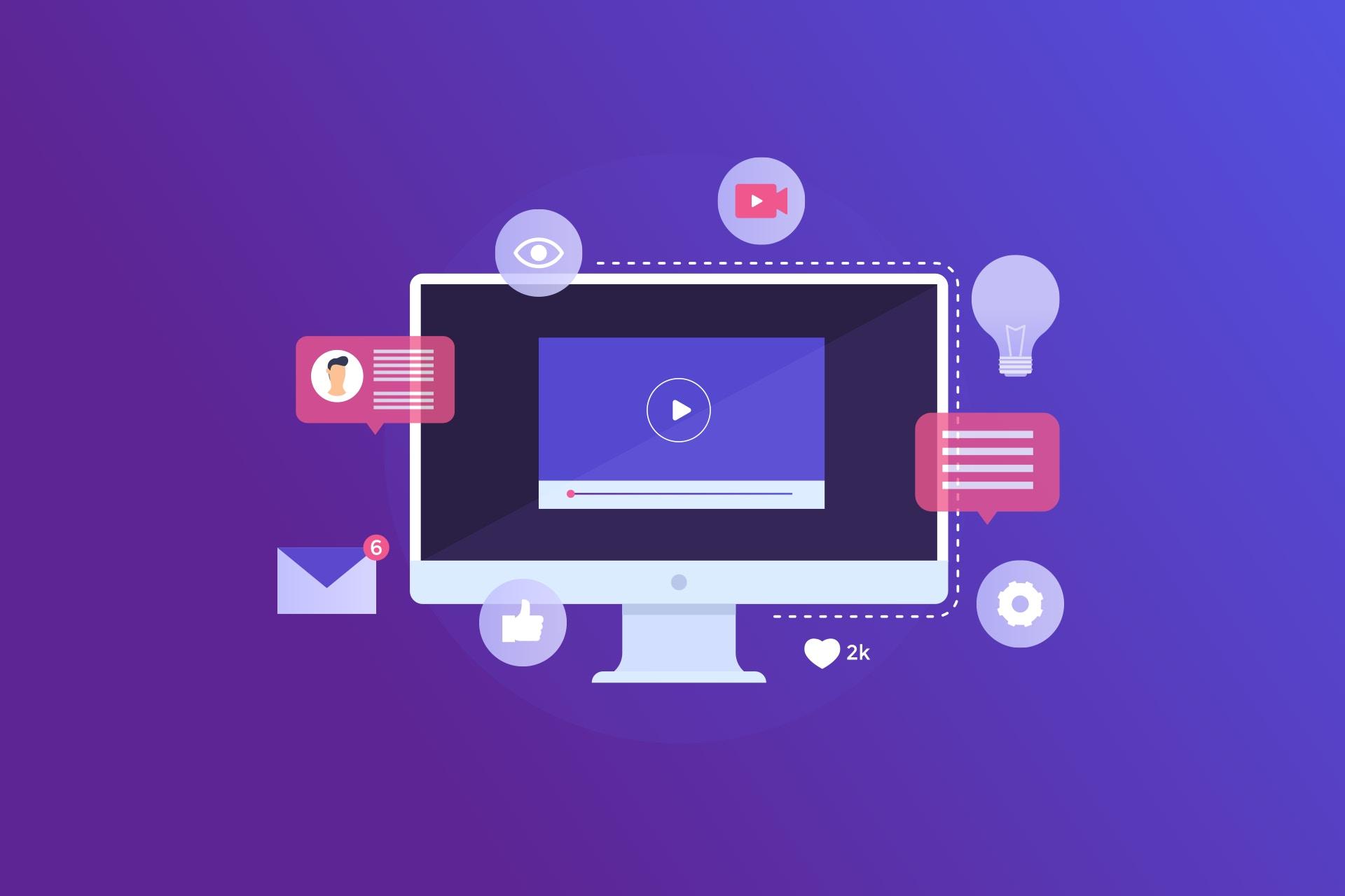 Videomarkkinointi kuvituskuva