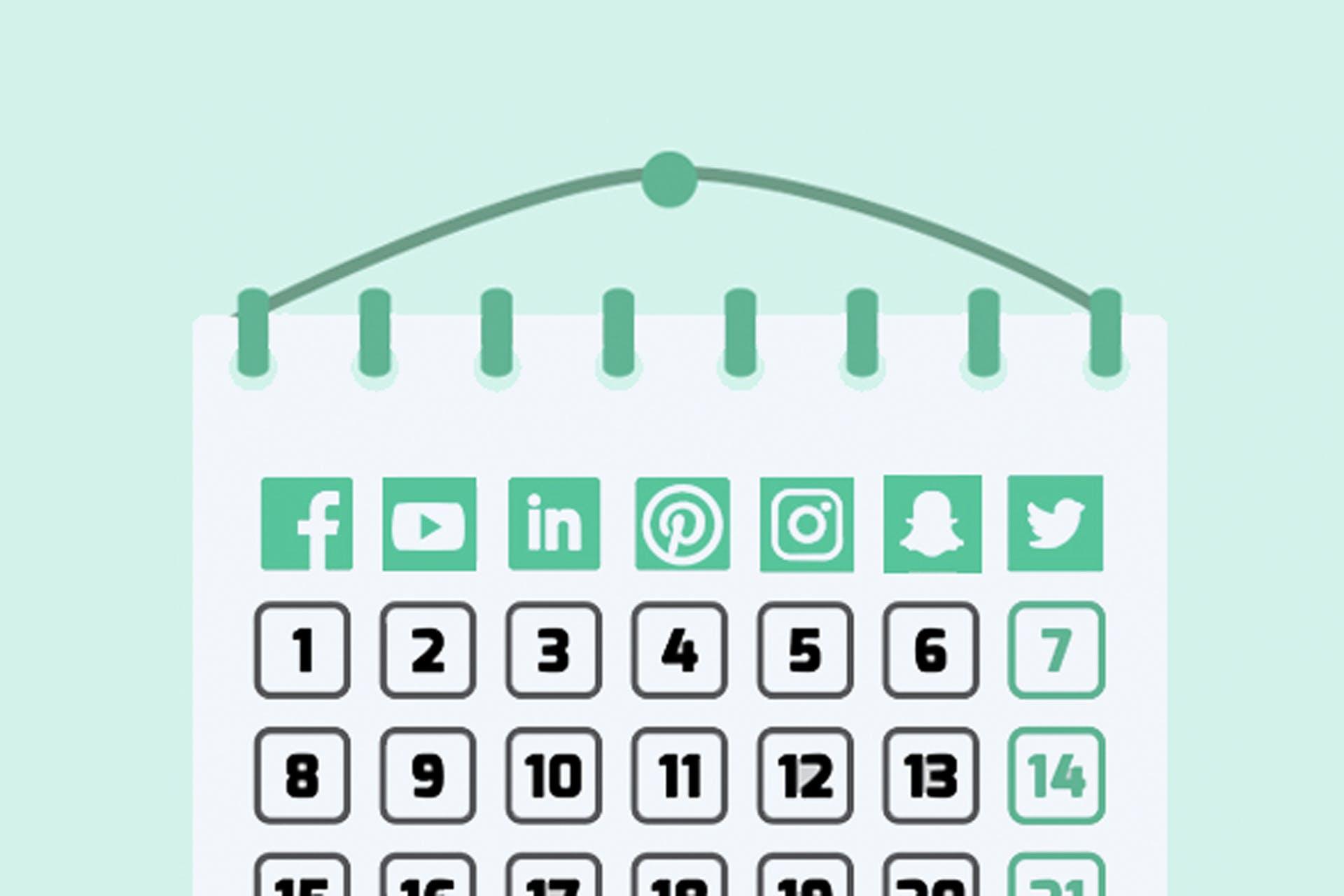 Näin rakennat sosiaalisen median julkaisukalenterin