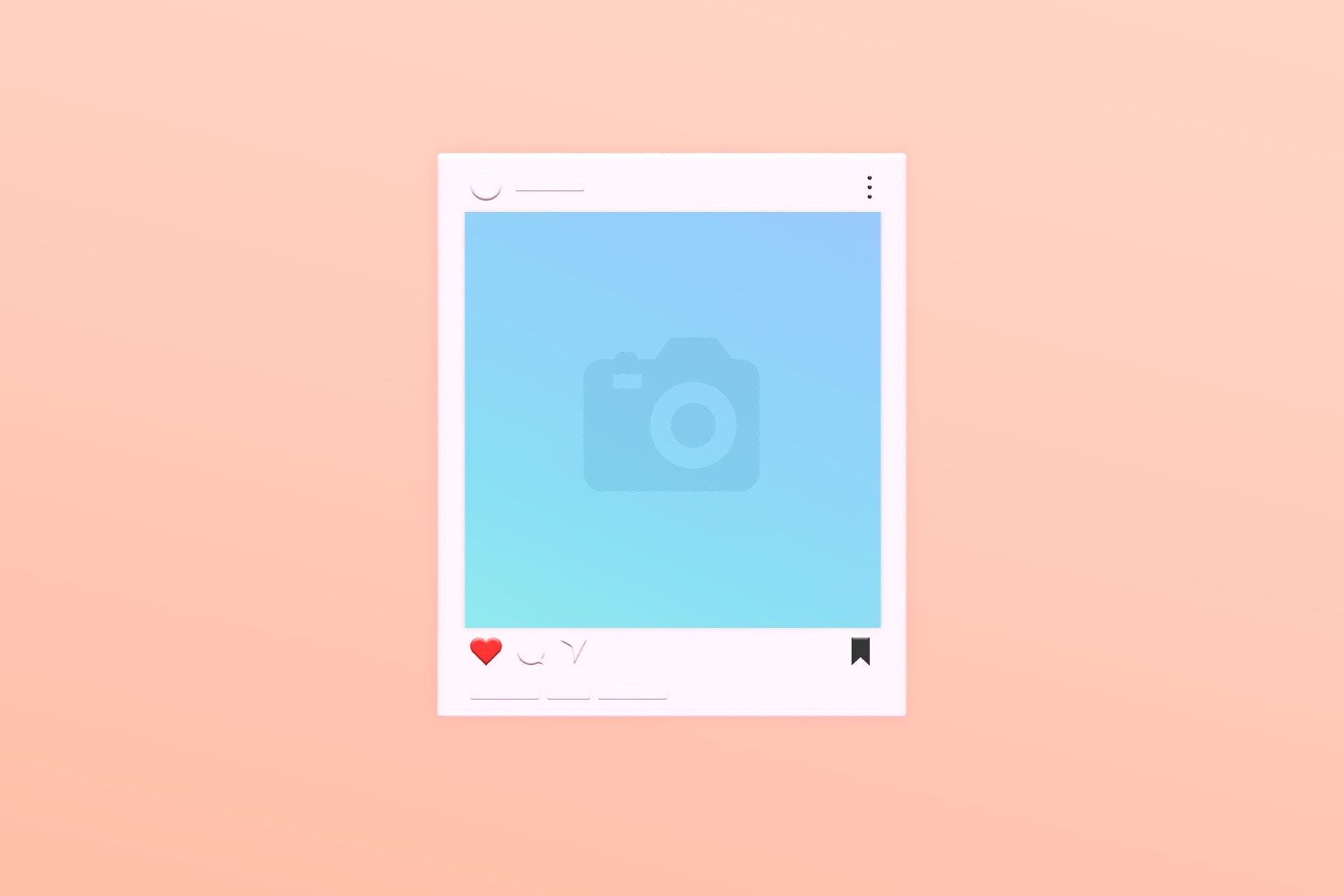 graphic of instagram profile picture