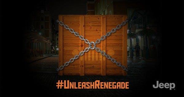 Jeep's campaign for #UnleashRenegade