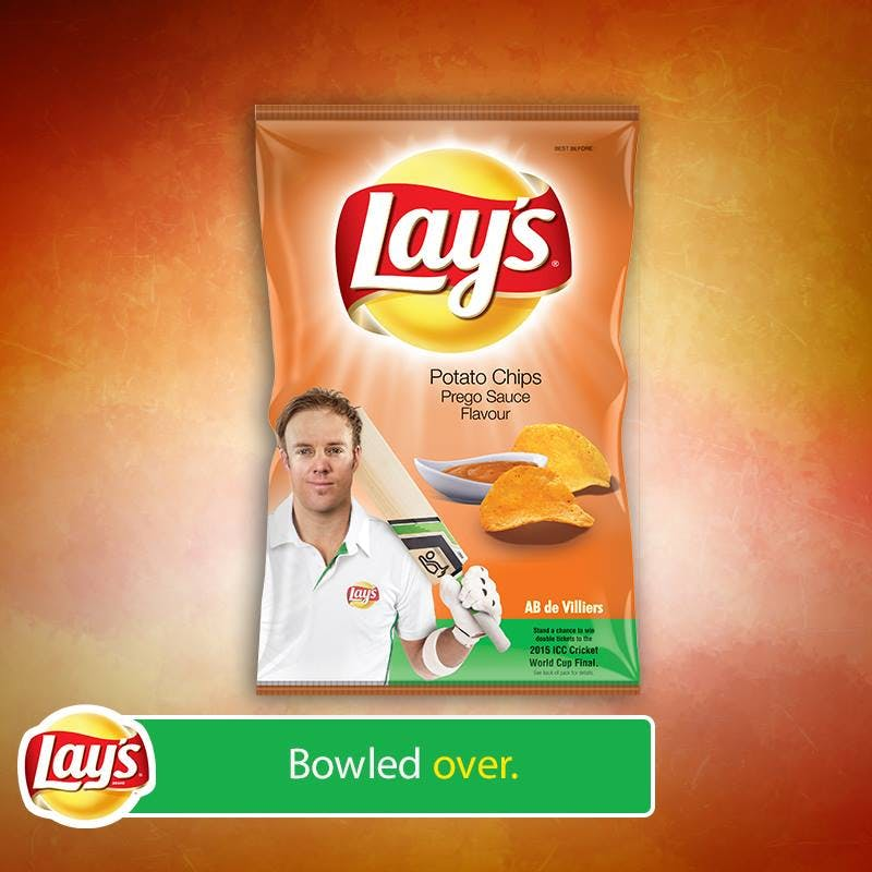 Lay's cricket-themed campaign