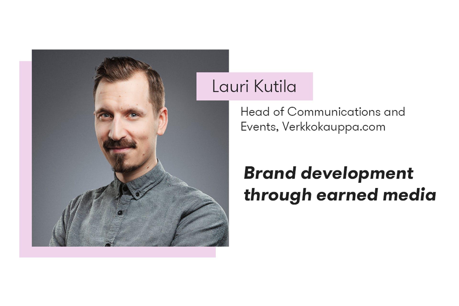 Lauri Kutila, Verkkokauppa.com