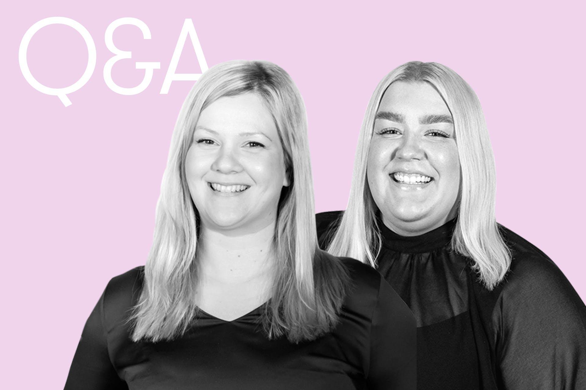 TikTok-webinaarin puhujat Tiina Raittinen ja Anette Vierimaa vastaavat webinaarissa esitettyihin kysymyksiin
