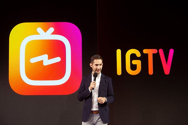 On stage IGTV