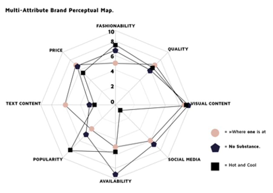 Example of perception map