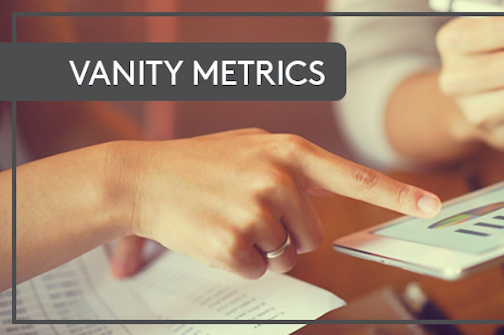 Tablet Analytics Vanity Metrics