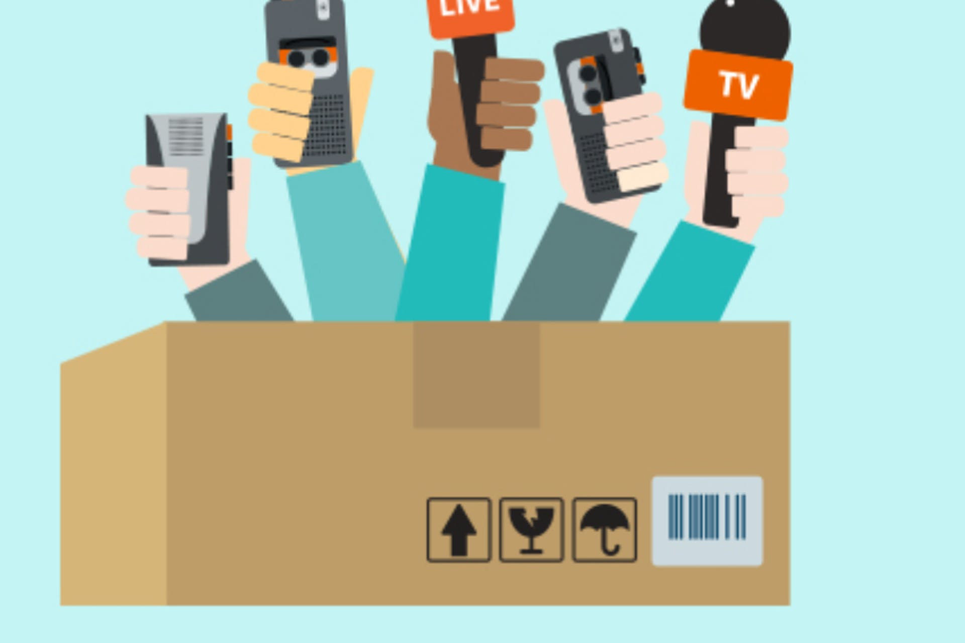 why the media is your customer
