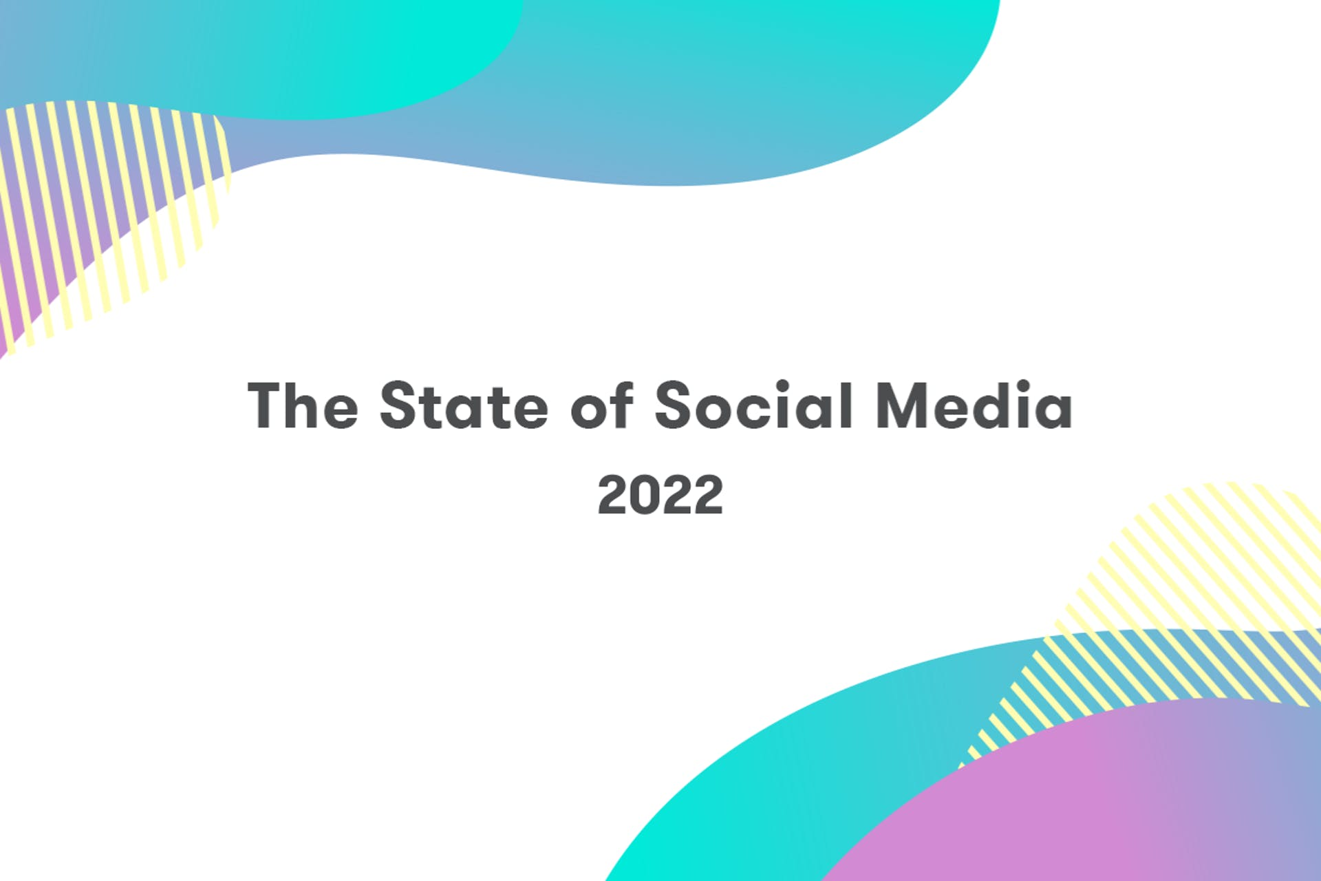 State of social media -raportti