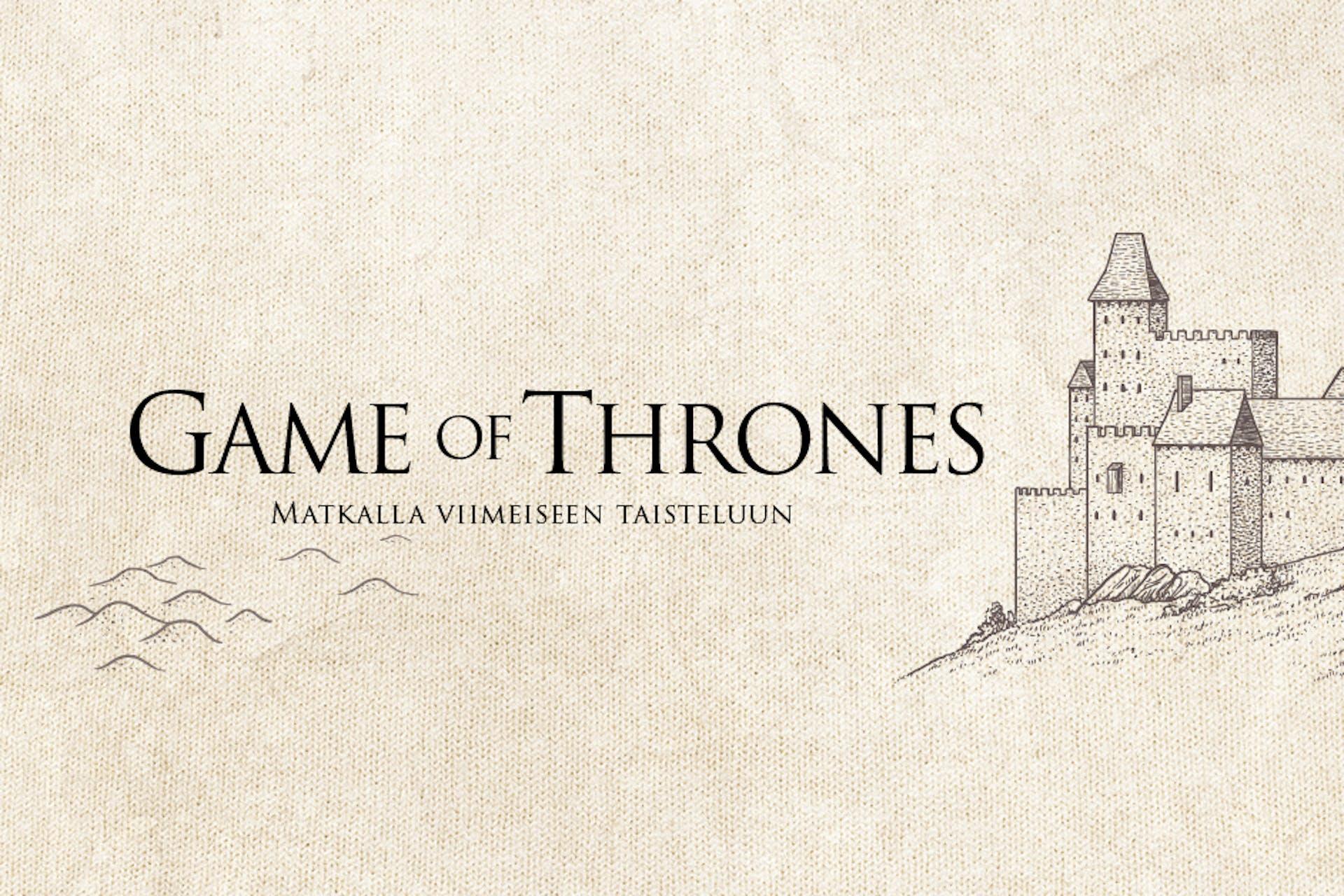 Game of Thrones sosiaalisessa mediassa infograafi