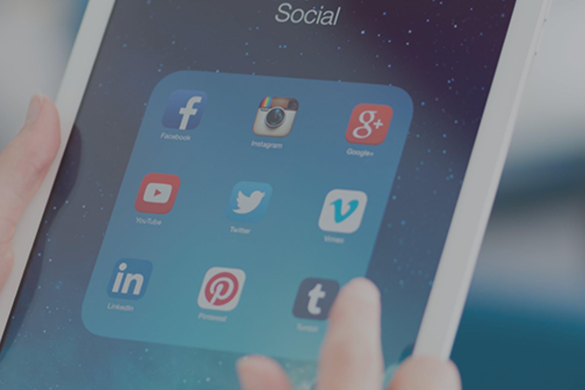 Post on social
