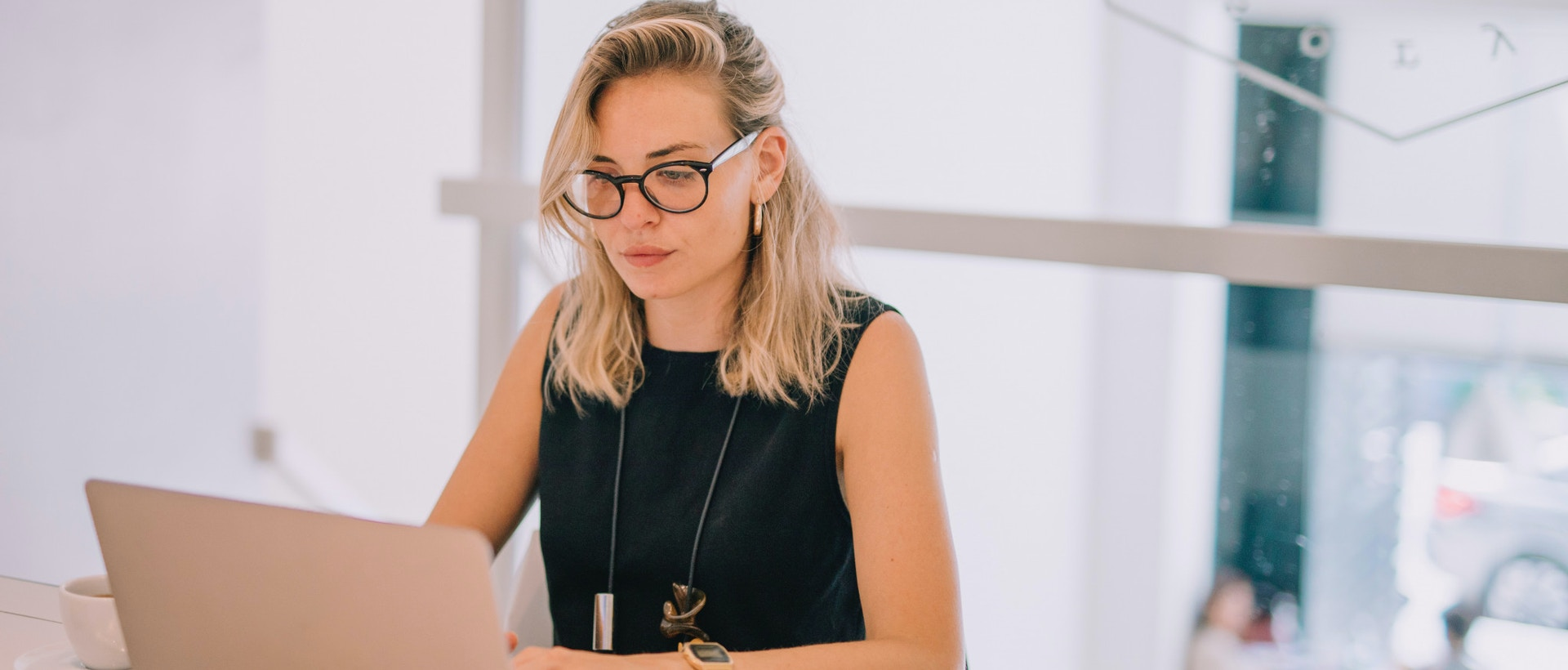 power of personalised pr girl wearing glasses