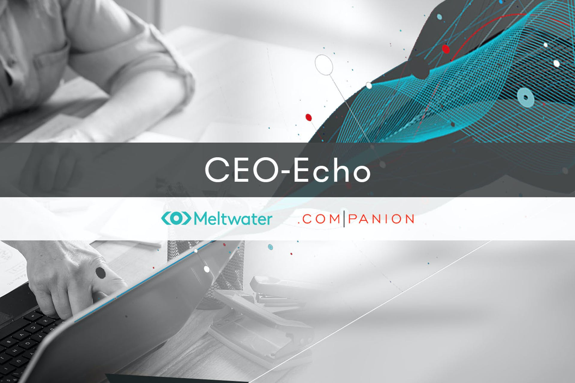 Meltwater companion CEO-Echo Banner