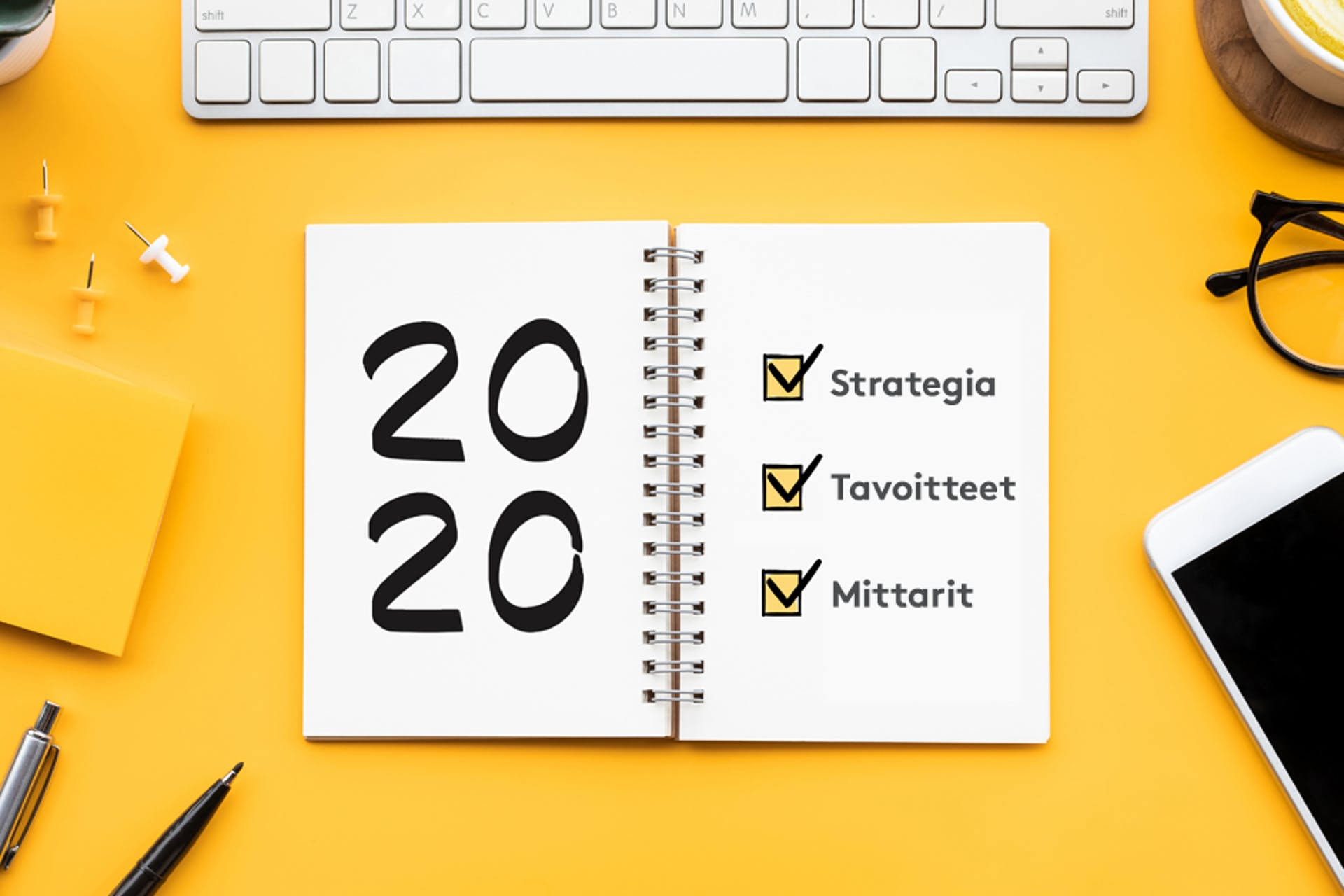 Nyt on oikea aika tehdä viestintäsuunnitelma vuodelle 2020