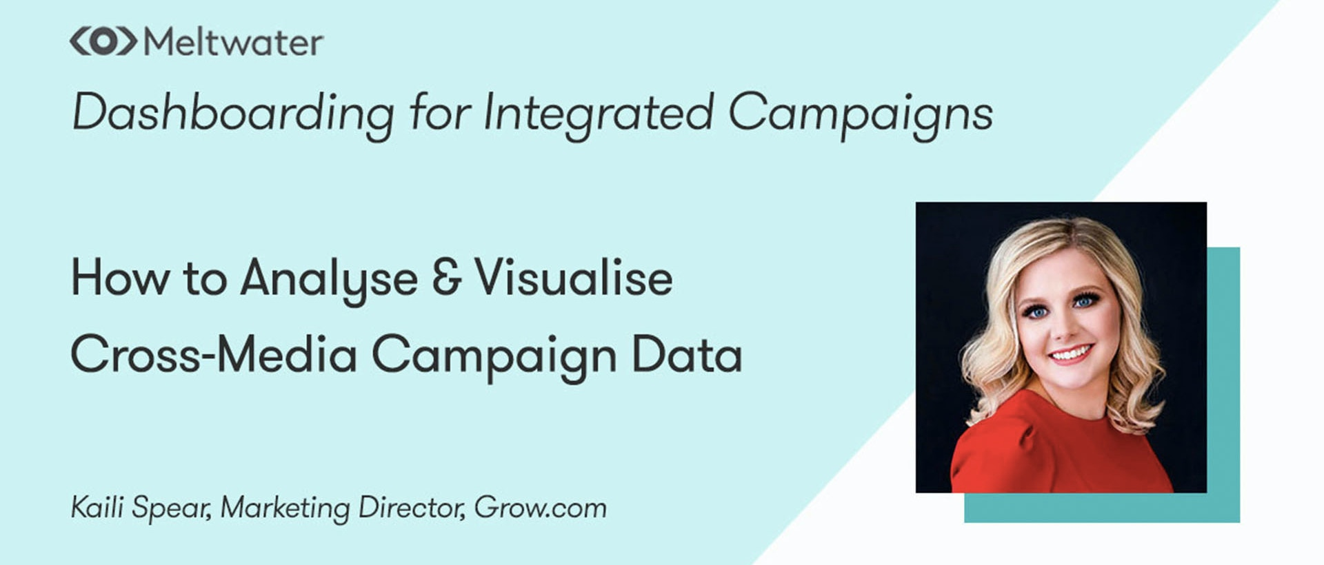 On-demand webinar banner: How to Analyse & Visualise Cross-Media Campaign Data