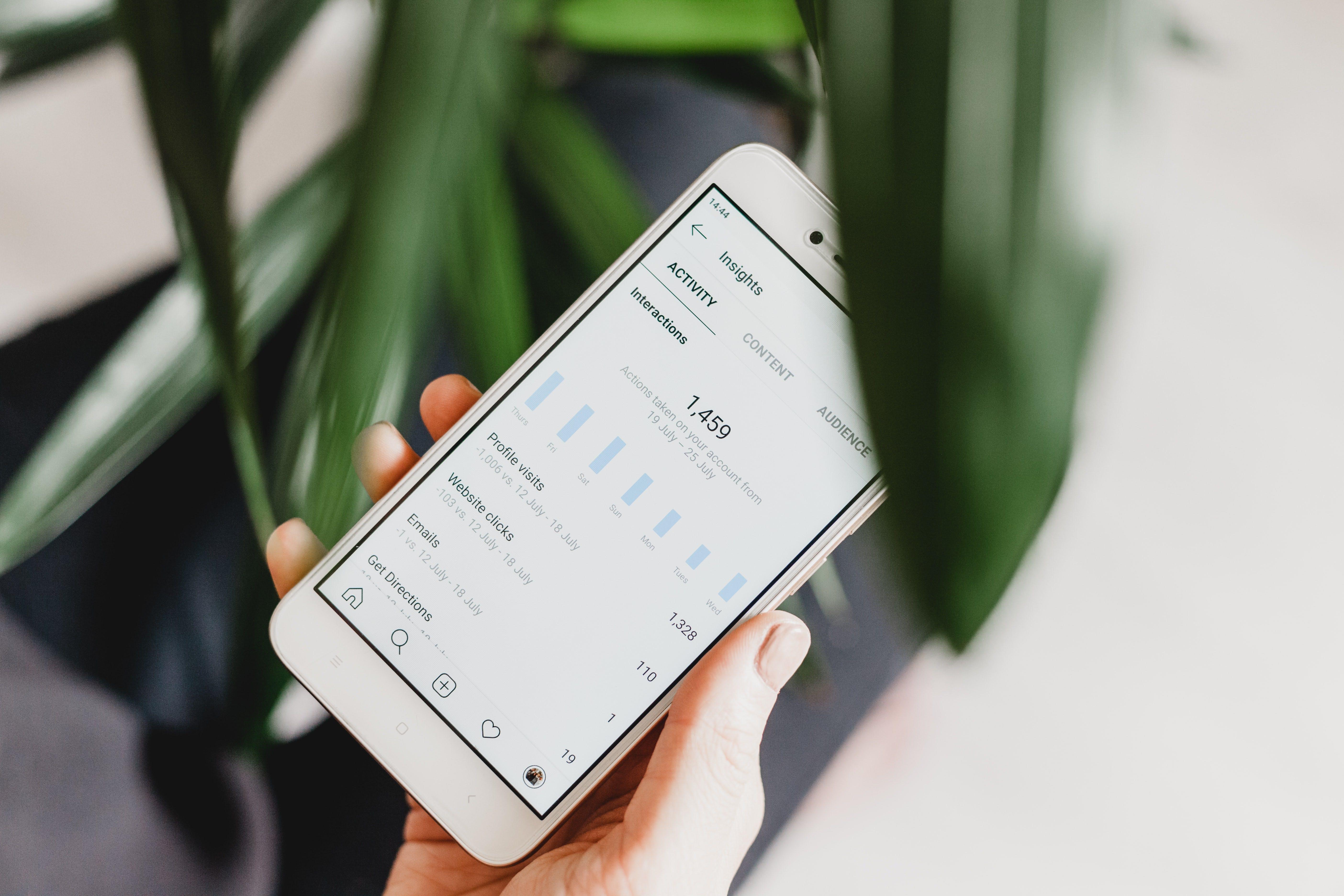 Instagram insights and analytics