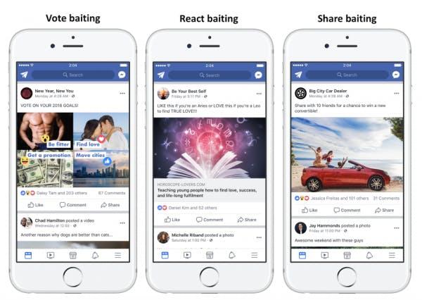Erilaiset tavat kerätä reaktioita Facebook julkaisulle