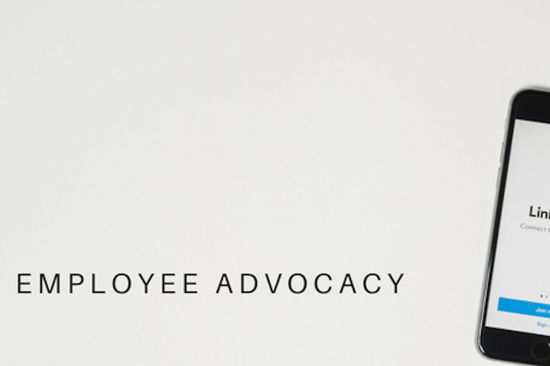 Employee Advocacy LinkedIn Smartphone