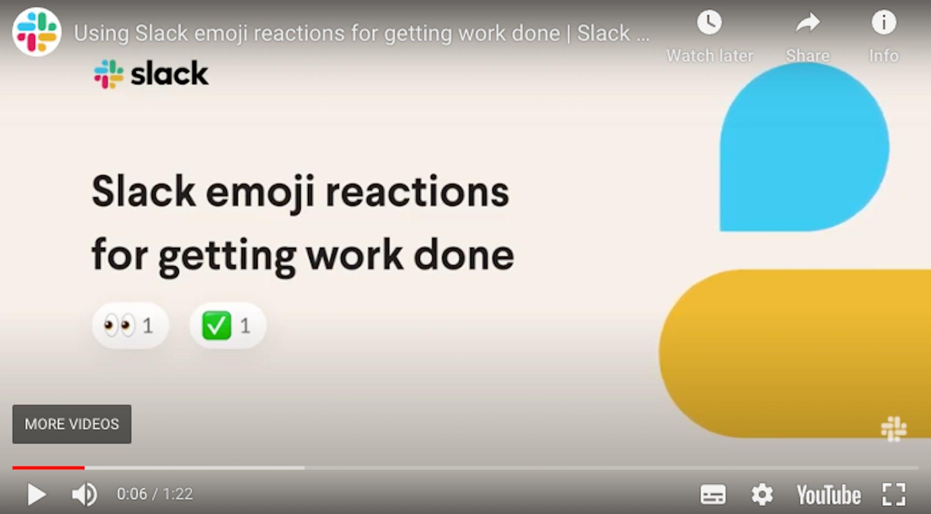 Slack's product video introduces emojis for its messaging platform