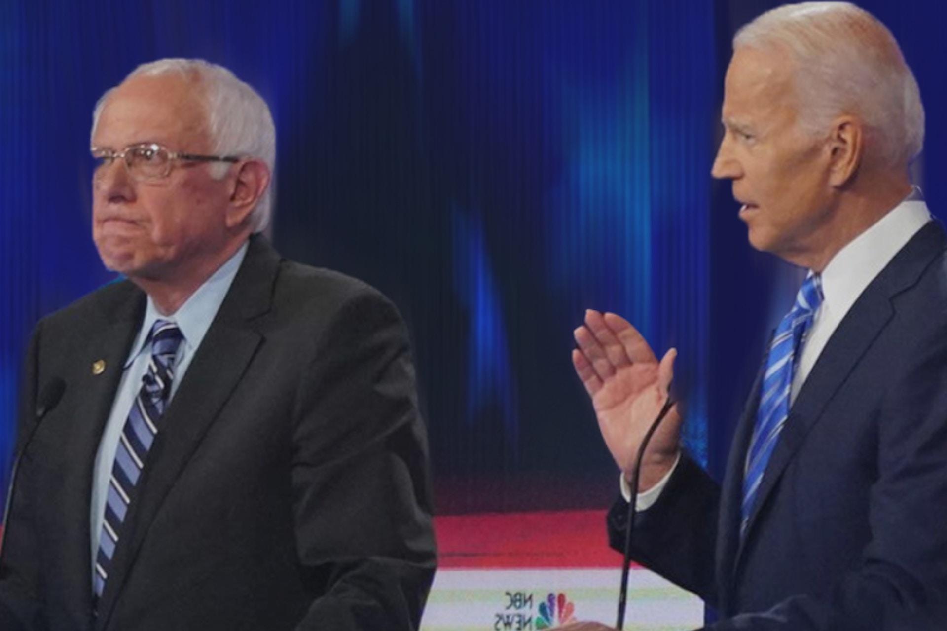 social media insights from democratic debate