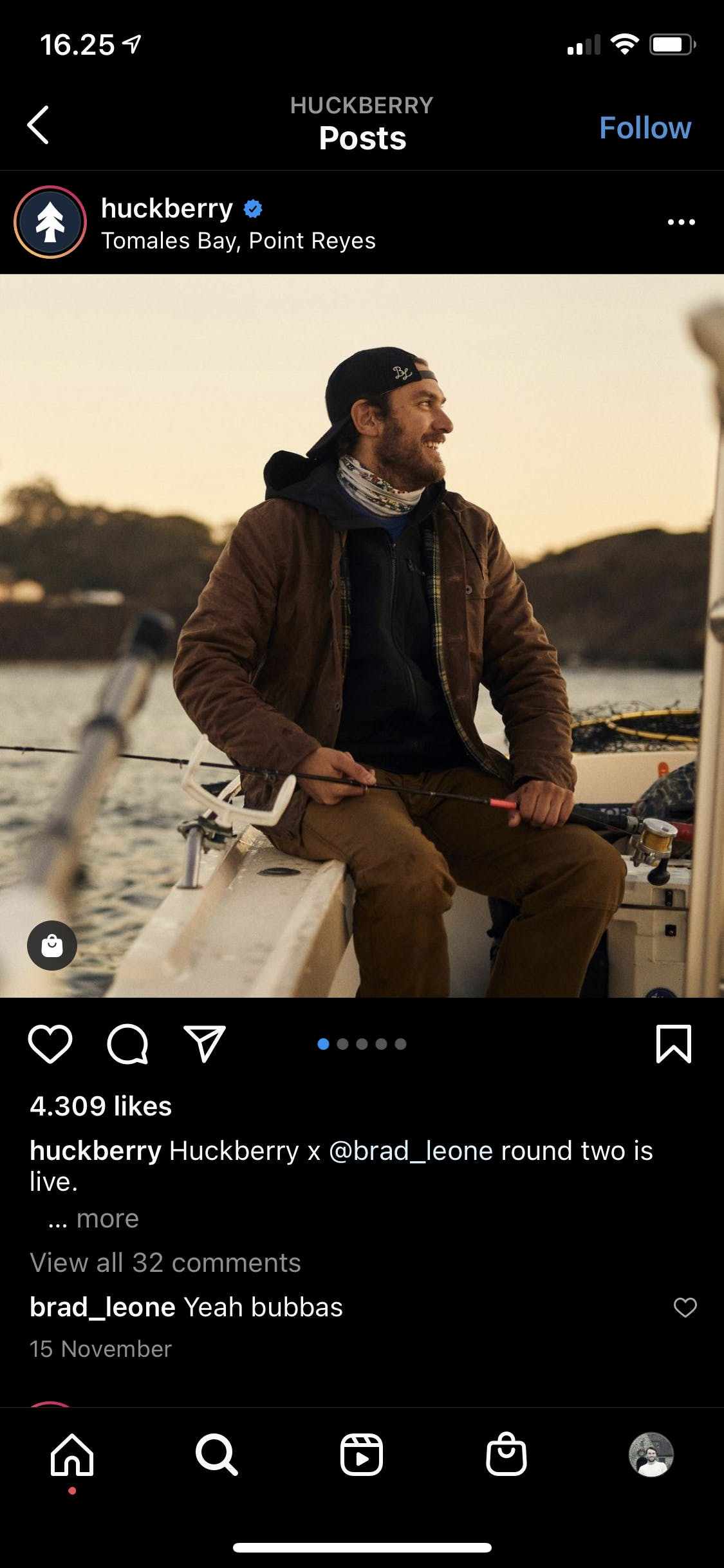 an image of model wearing Huckberry's clothing