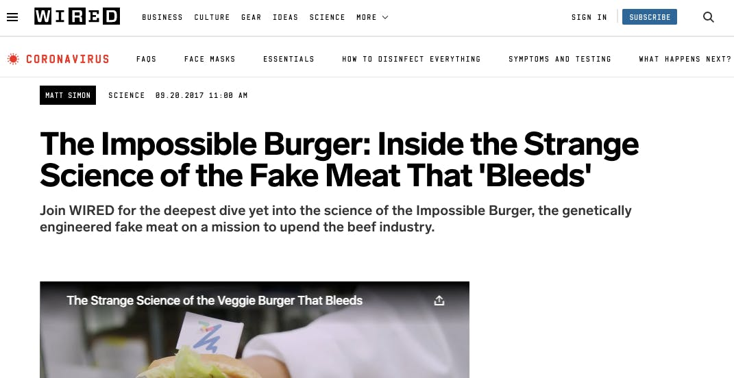 Vous pouvez voir un screenshot d'article de presse.