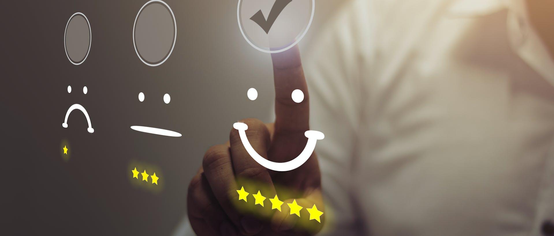 reputation management five star customer score