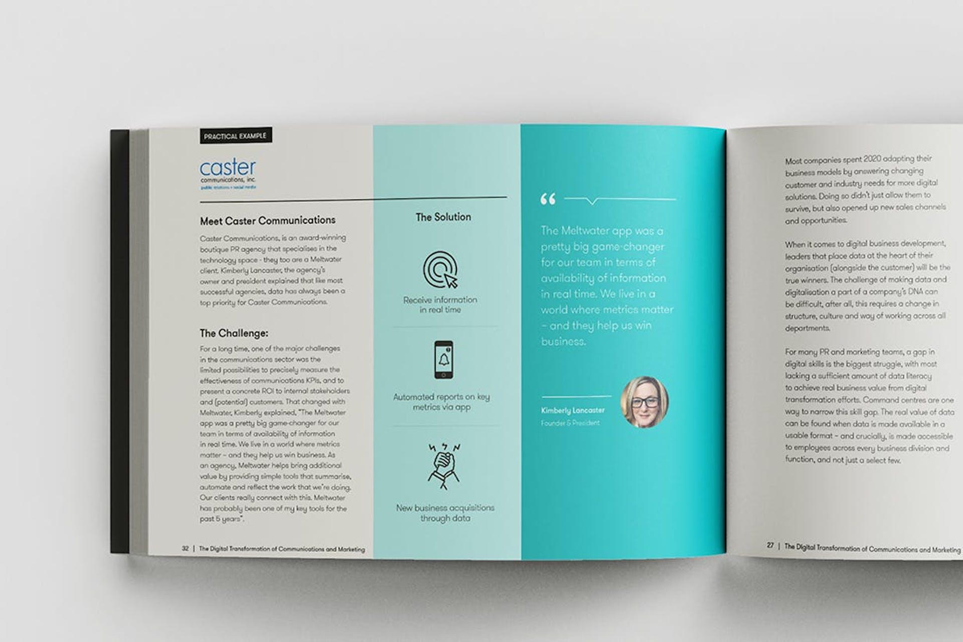 Kuva kirjasta, joka käsittelee digitaalista transformaatiota