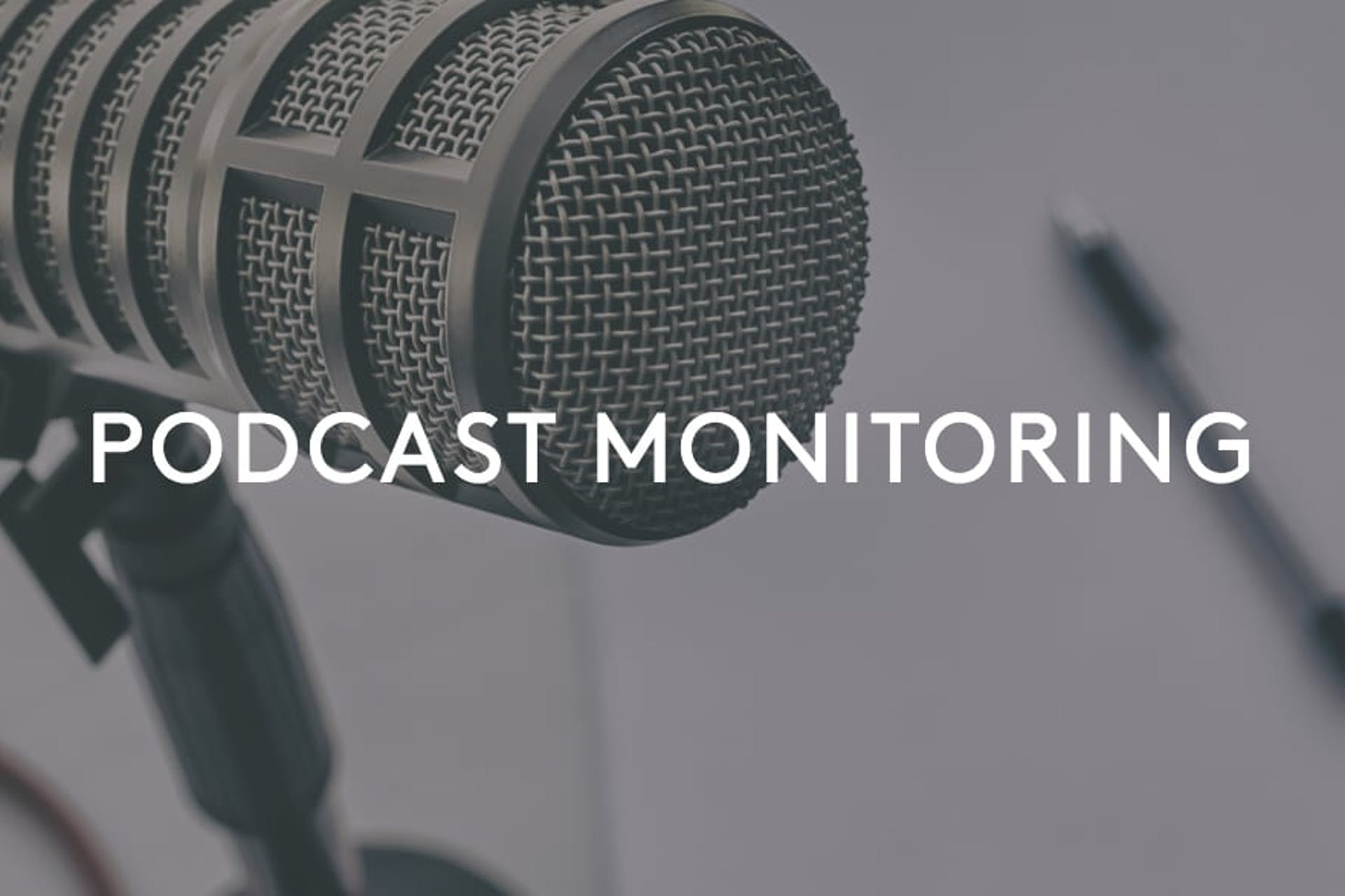 Podcast Monitoring Mikrofon