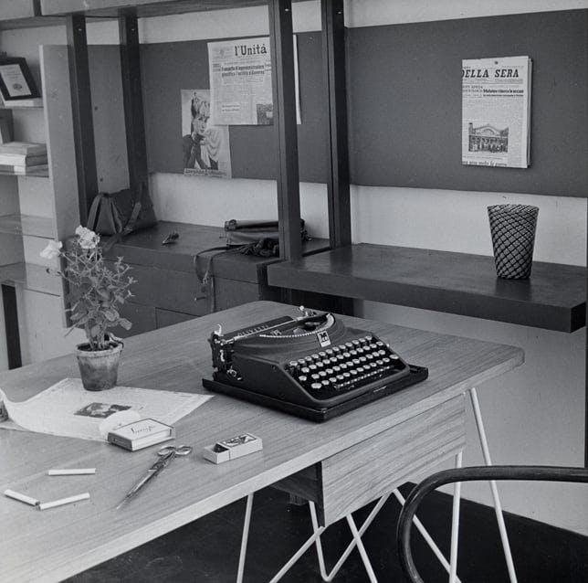 Google Docs en 1947 — Triennale Milano